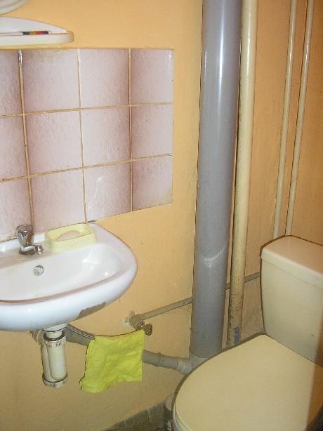 WC v pøízemí