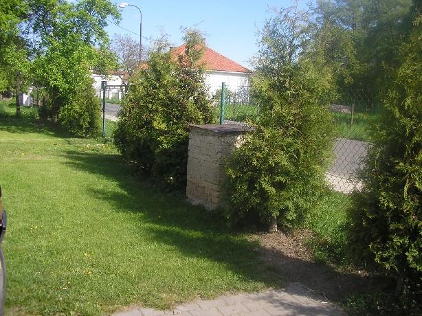 oplocení zahrady s tùjemi