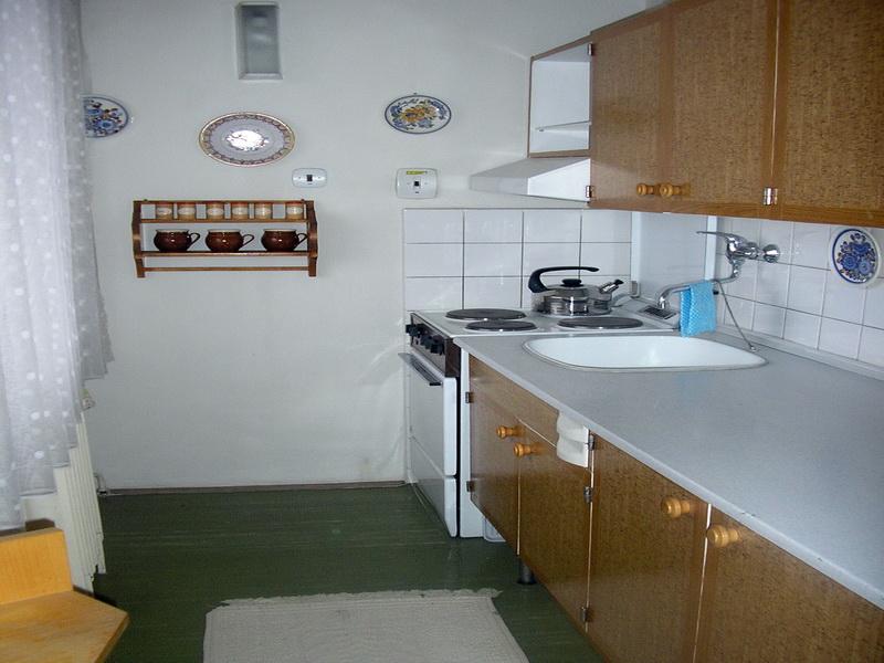 pohled do kuchynì